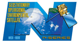 GOES-N Decal