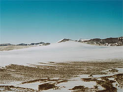 Lindstrom Ridge in Antarctica