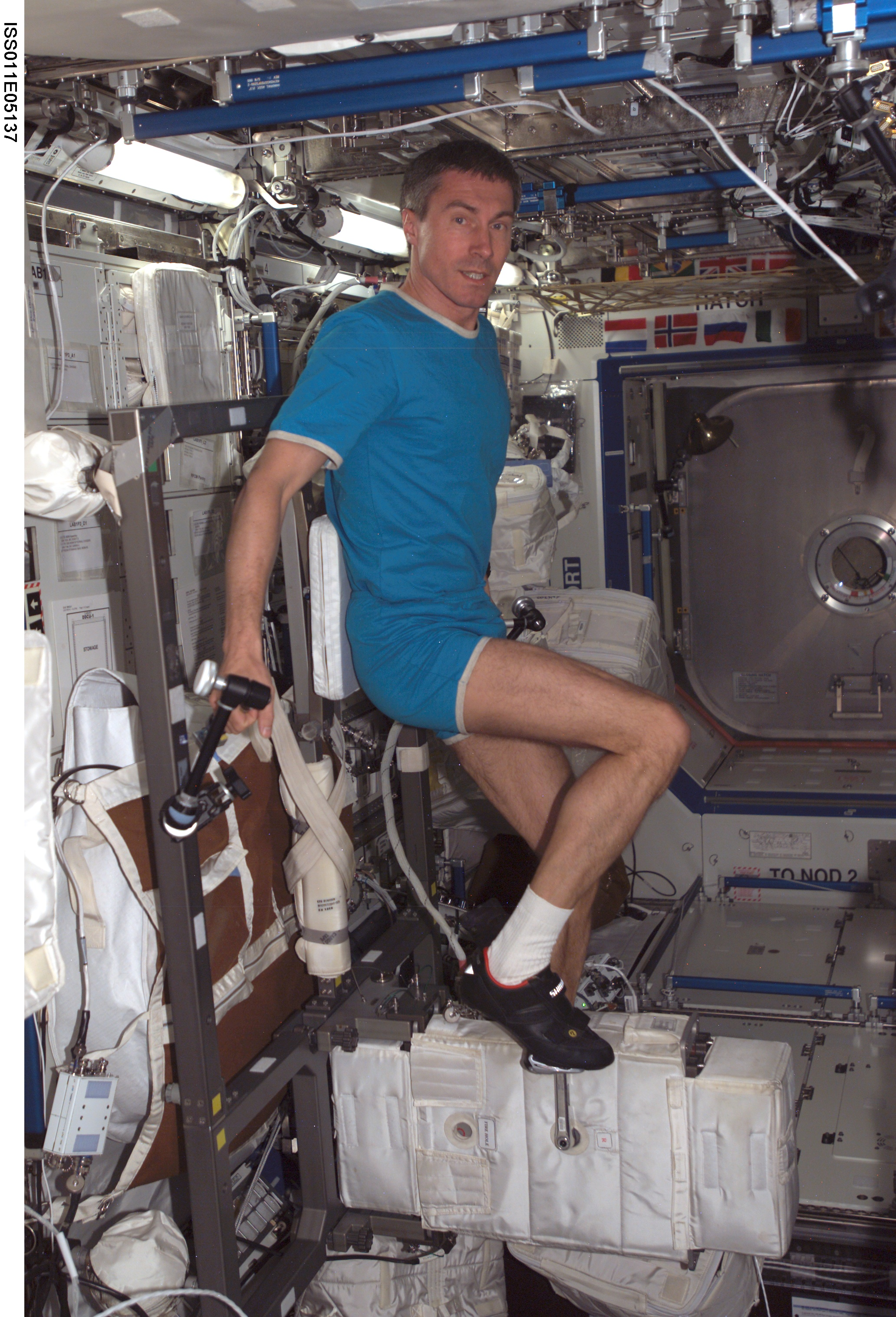 Nasa Cycling In Space