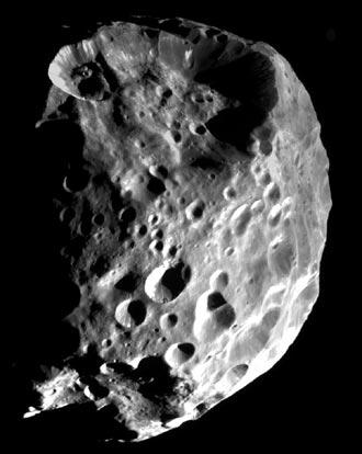 Saturn's moon Phoebe