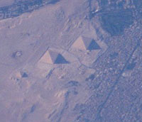 Pyramids at Giza, Egypt