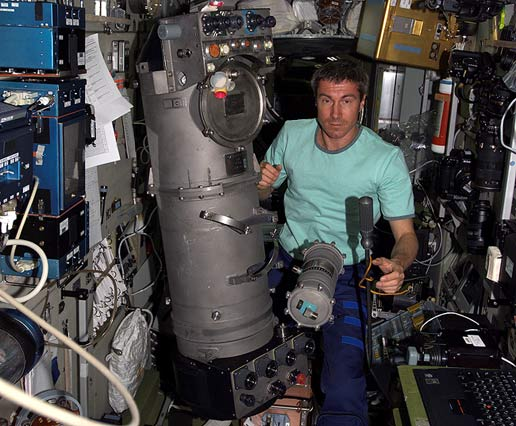 Expedition 11 Commander Sergei Krikalev