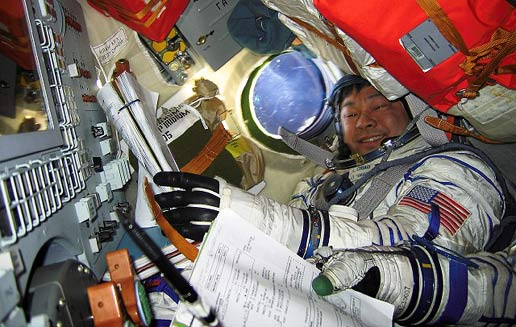 Expedition 10 Commander Leroy Chiao