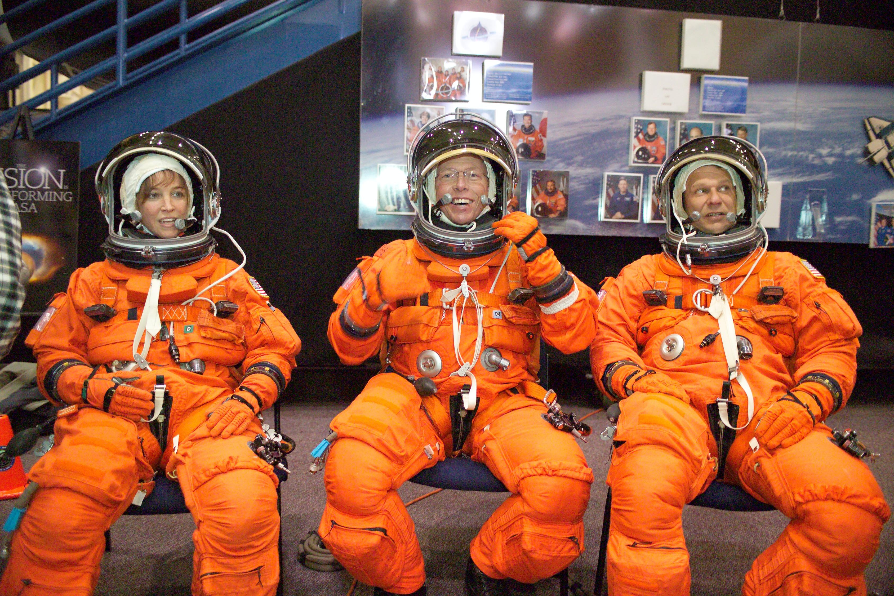 orange space suit training - photo #17