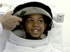 Boy in a spacesuit