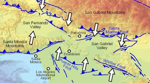 Nasa La S Big Squeeze Continues Straining Earthquake Faults