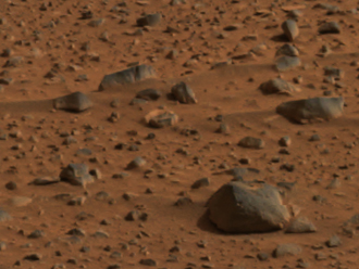 Image from Mars rover Spirit