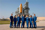 STS-114 crew at