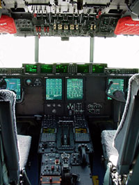 Image of a WC 130 J Hercules aircraft