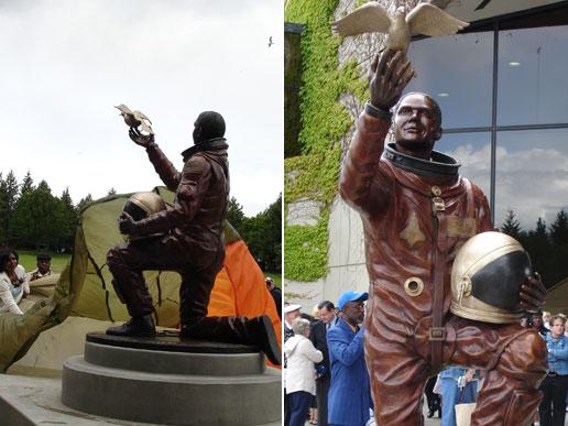 astronaut statue spokane - photo #7