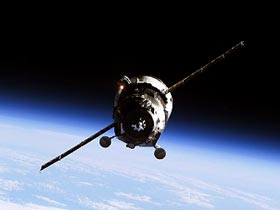 ISS Progress 17 spacecraft