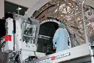 The Minus Eighty Degree Laboratory Freezer for the International Space Station is shown being loaded.