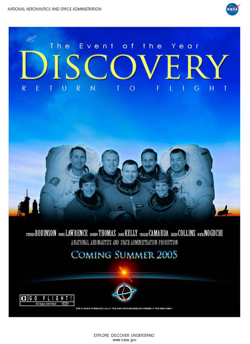 STS-114 movie poster