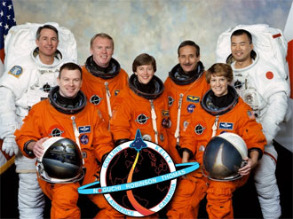 STS-114 astronauts