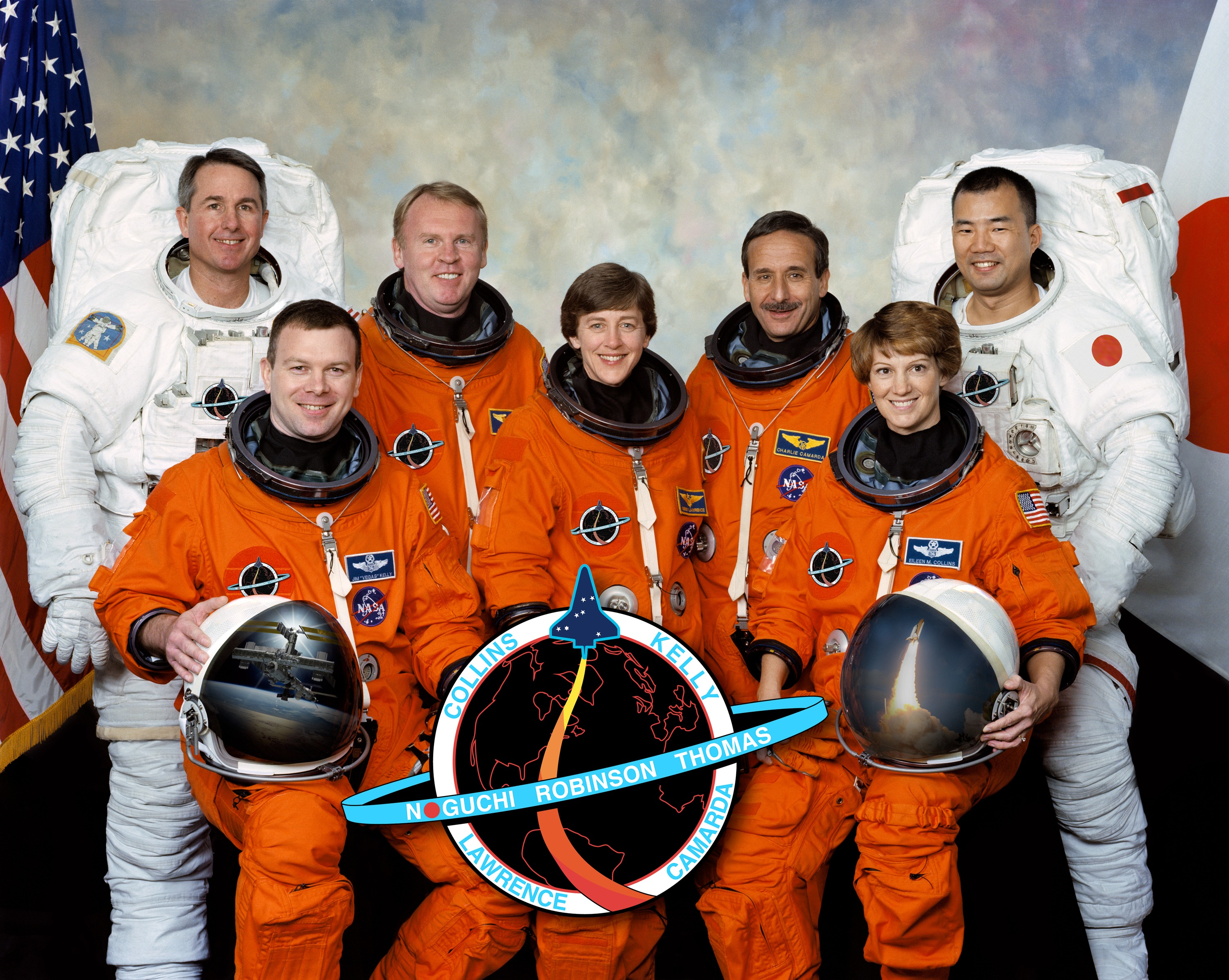 space shuttle discovery crew - photo #10
