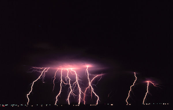 a description of thunderstorms as where lightning and thunder occur Thunder is the sound produced by the shock wave lightning generates  in the  southeastern united states, thunderstorms occur most often.