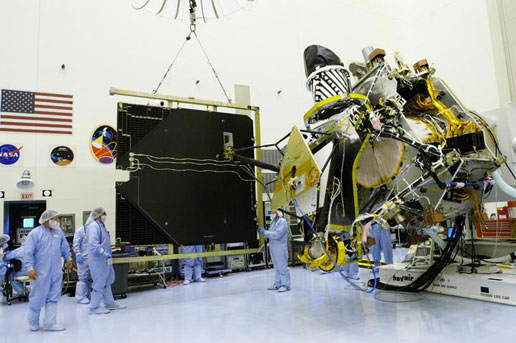Spacecraft Undergoes Readiness Tests