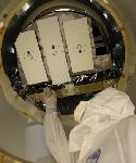 STEREO spacecraft in the clean room