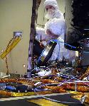 STEREO spacecraft in the cleanroom
