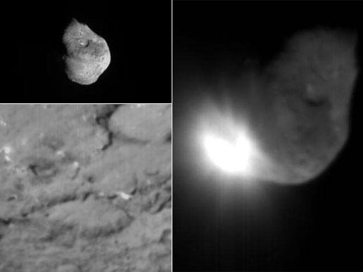 space probe comet impact - photo #15