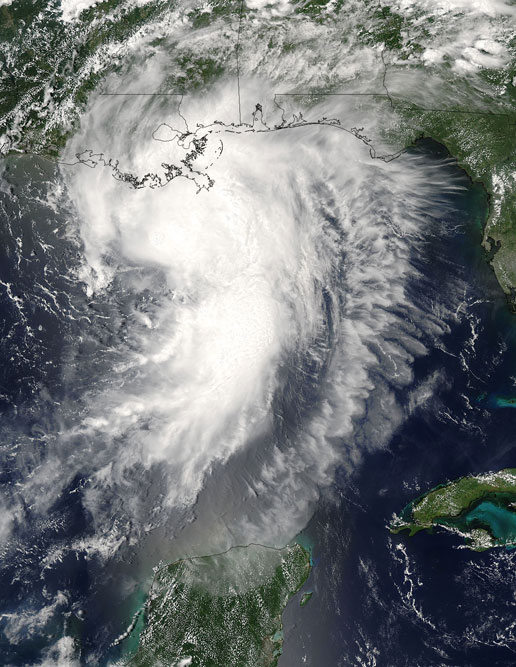 MODIS Image of Tropical Storm Cindy