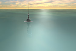 Image of a Buoy Underwater from the Argo Project