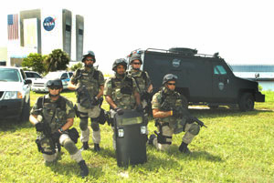 Kennedy Space Center SWAT team