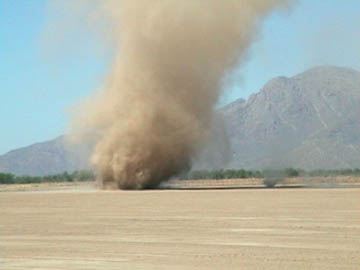 June 8 dust devil