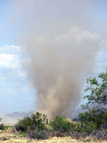 June 11 dust devil