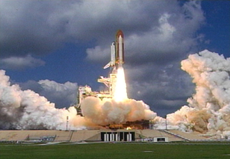 Dicovery Launch, NASA