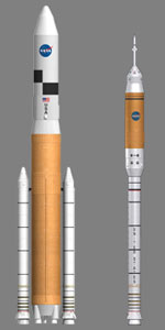 New heavy lift and crew launch vehicles