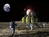 Le futur module lunaire