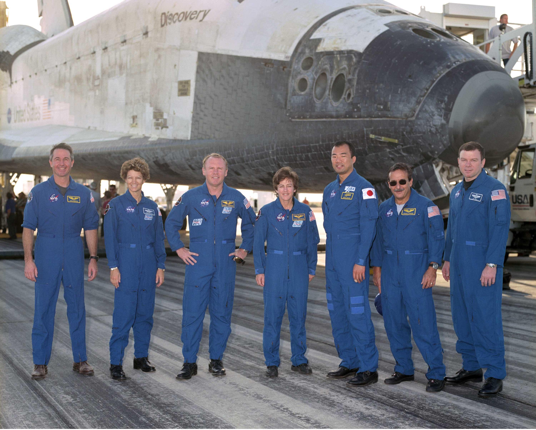 NASA - Discovery Crew Home Safe