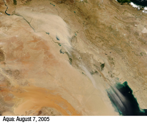 Iraq Dust Storm Image