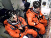 STS-115 crew in training