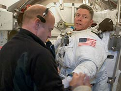 STS-121 Mission Specialist Mike Fossum