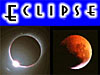 The word Eclipse above two images of eclipses