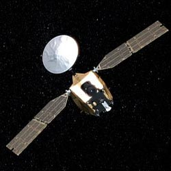 artist's concept of Mars Reconnaissance Orbiter in space