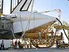 Discovery receives post-flight processing at NASA's Dryden Flight Research Center, Calif.