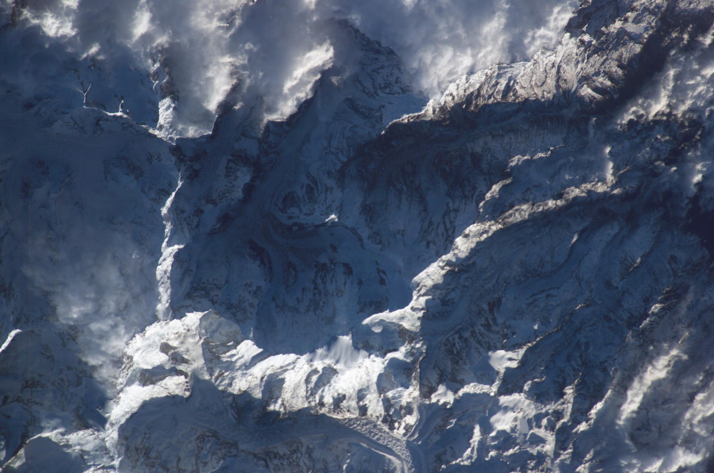 nasa himalayas from space - photo #29