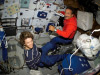 STS-114 Commander Eileen M. Collins and Mission Specialist Charles J. Camarda