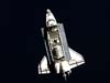 Space Shuttle Discovery photographed from ISS