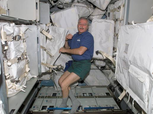 Expedition 11 Flight Engineer and NASA ISS Science Officer John Phillips