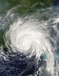 Hurricane Dennis in July 2005.
