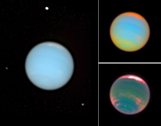What Color Are Neptune's Moons - Pics about space