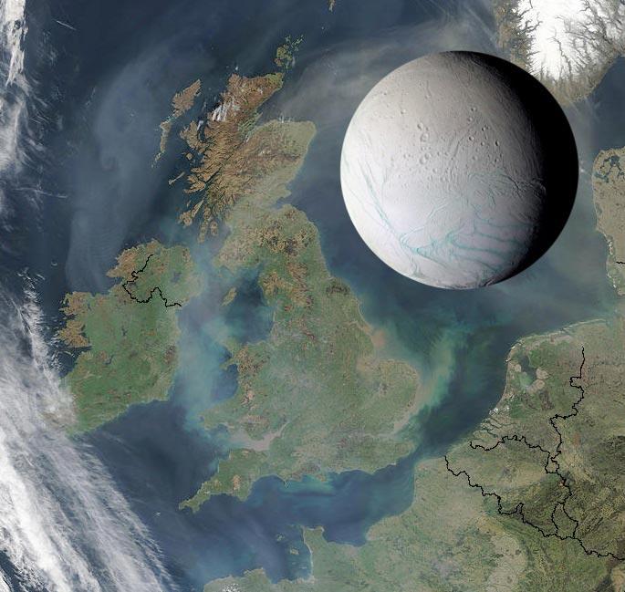 Enceladus Mond