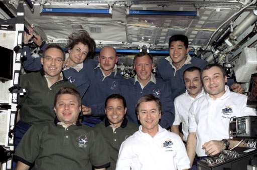 Also, the STS-108 crew swapped International Space Station crews,