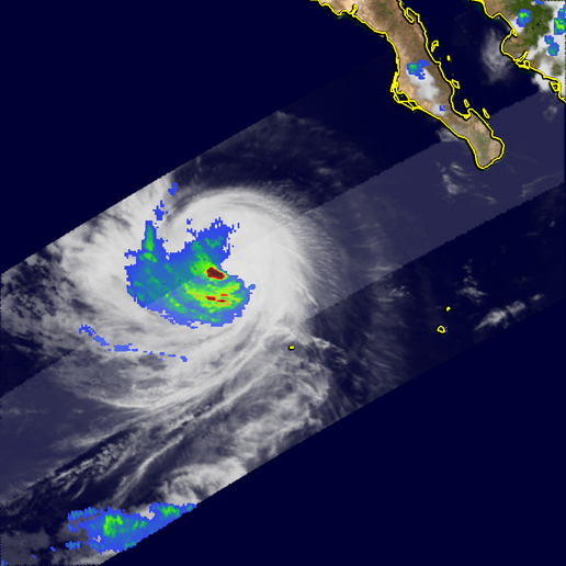 Image of Hurricane Hilary