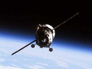 Progress cargo spacecraft