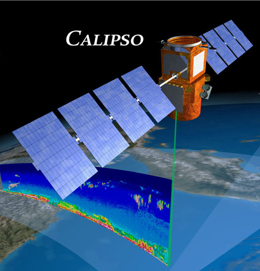 CALIPSO lidar in action